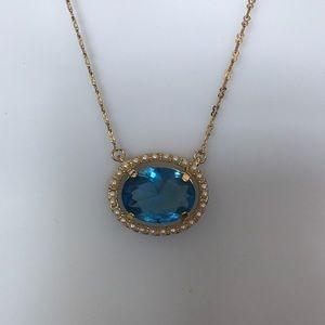 Betsey Johnson stone necklace